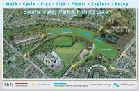 Click to enlarge an aerial photo of the park & the project